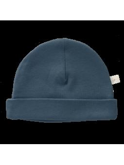 Bonnet bleu indigo : Taille - Nouveau né